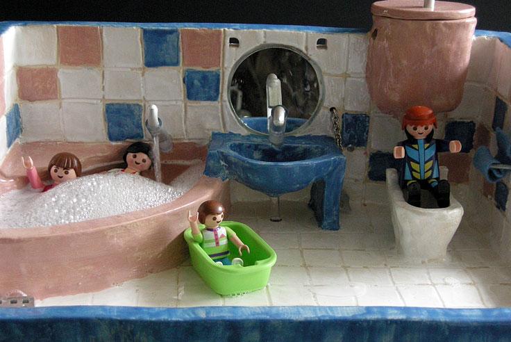 Playmobil® Badezimmer 5330 Bei Spar Toys | Ravenale, Badezimmer Gestaltung